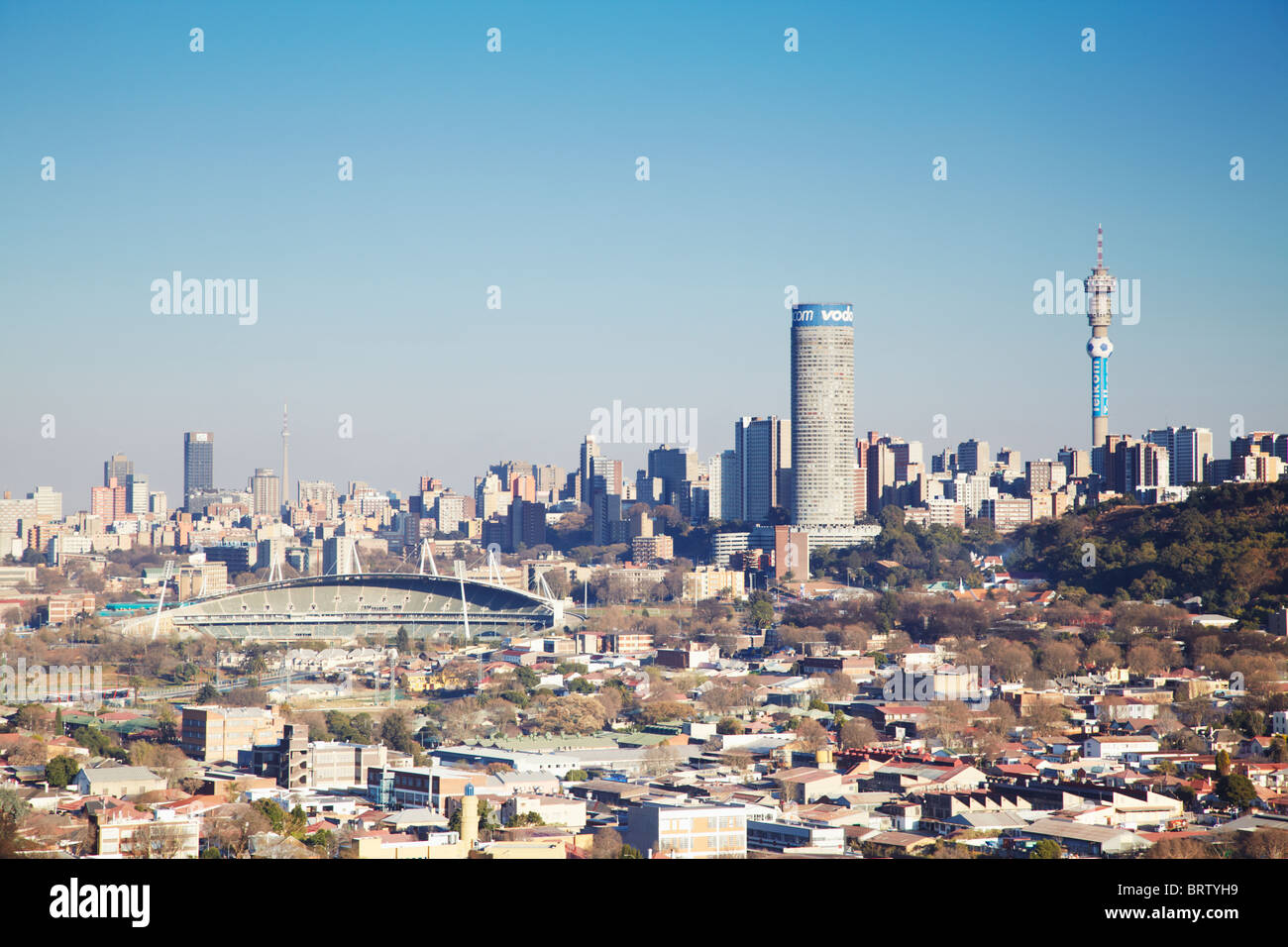 View of johannesburg skyline gauteng south africa stock photo view of johannesburg skyline gauteng south africa thecheapjerseys Images