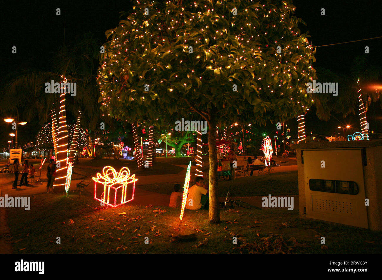 x-mas in Colombia - Stock Image