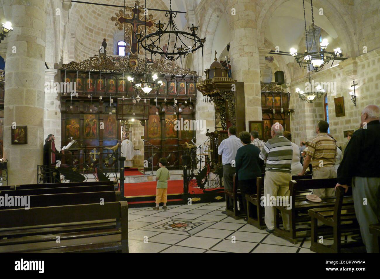 TURKEY Arabic Greek Orthodoc Cathedral, Antakya, (formerly Antioch), Hatay Province. PHOTO by SEAN SPRAGUE - Stock Image
