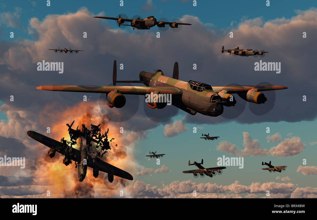 Bomber Command. - Stock Image