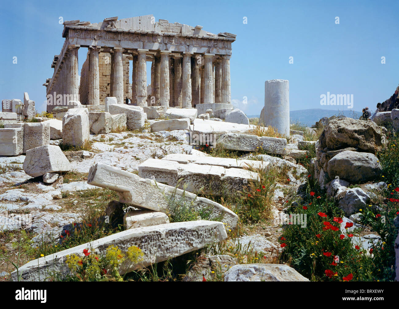 Parthenon, Acropolis, Athens, Greece, Europe - Stock Image