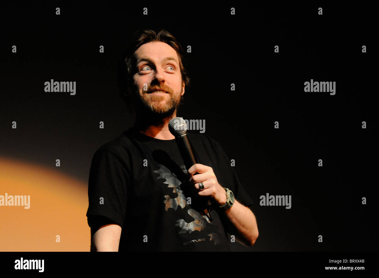 Sandy Nelson Comedian - Stock Image
