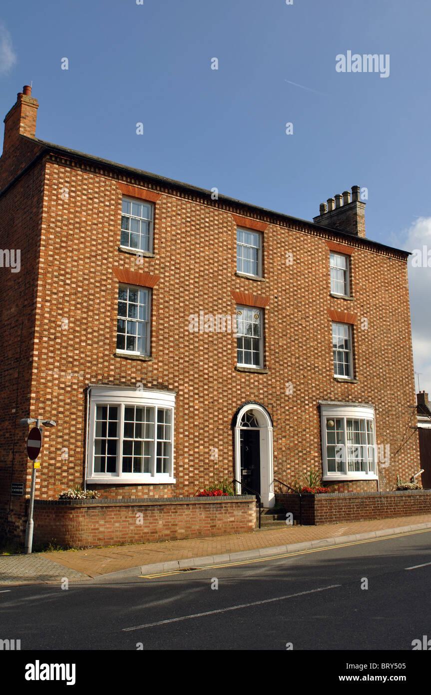 Building in Sheep Street, Wellingborough, Northamptonshire, England, UK - Stock Image