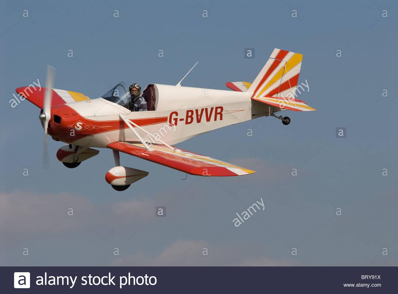 Airfield Aerodrome Monoplane Stock Photos & Airfield