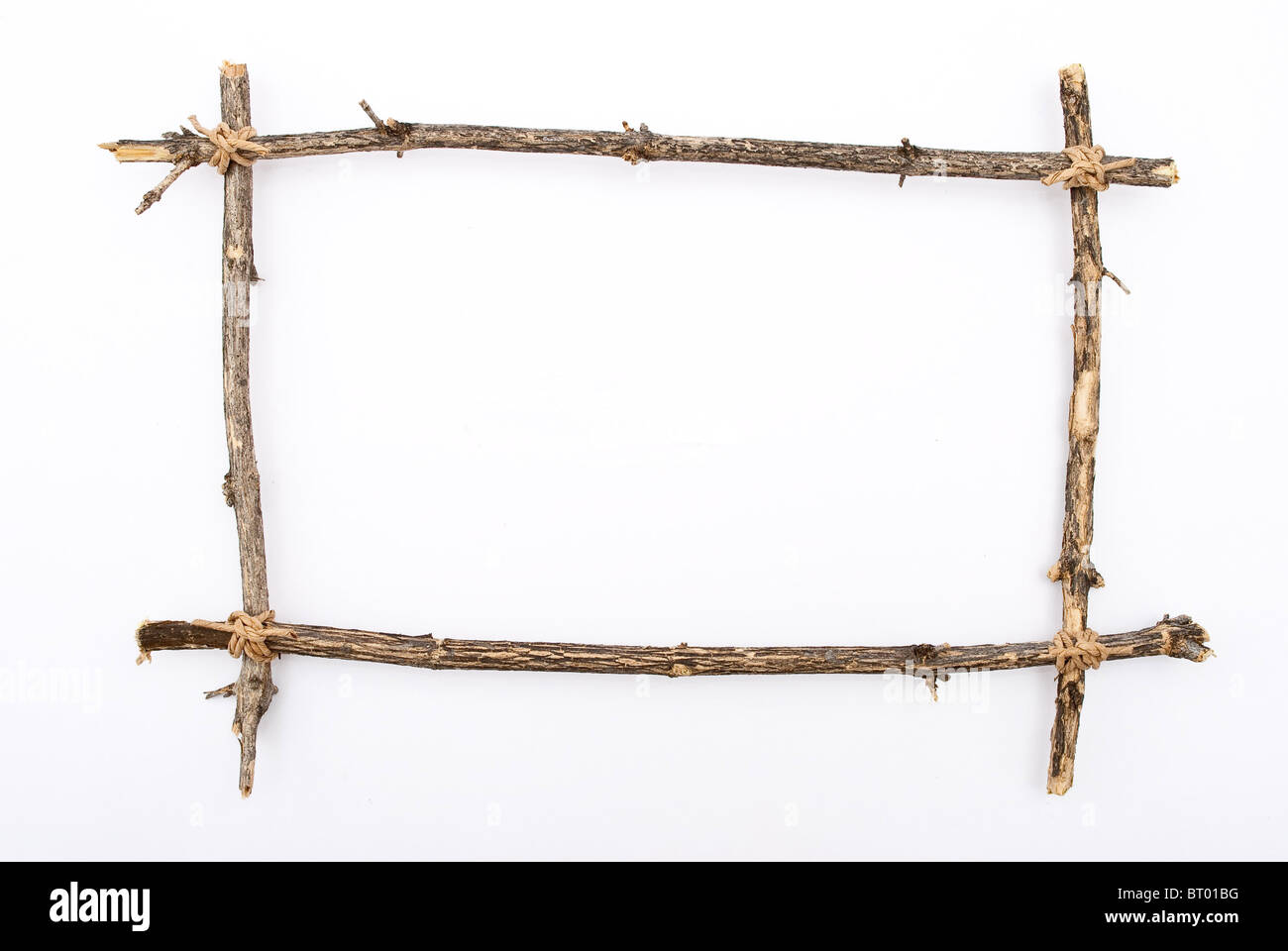 Frame of branches Stock Photo
