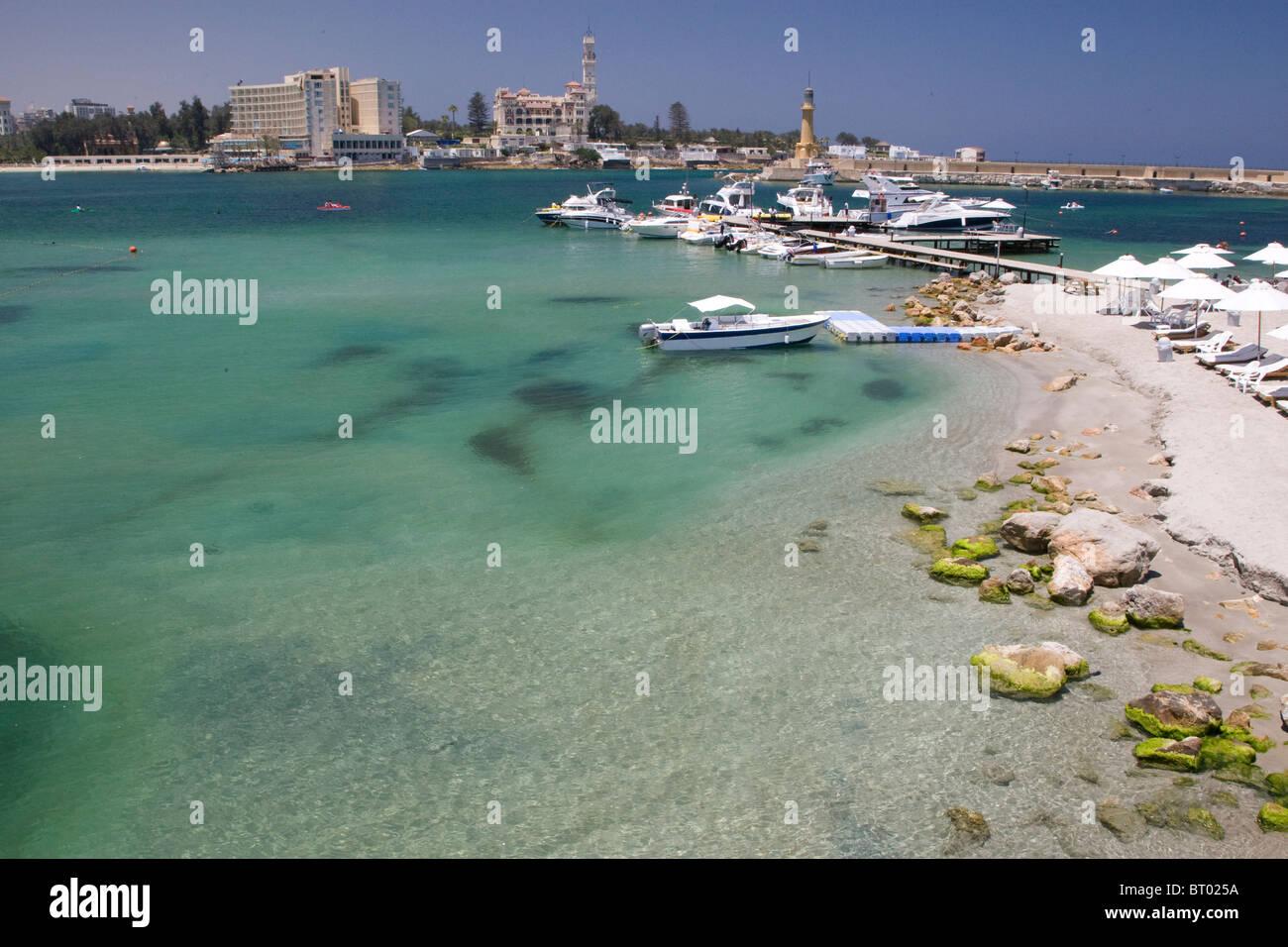 Alexandria Egypt Africa Outdoor City Famous City Tourist Resort Stock Photo Alamy