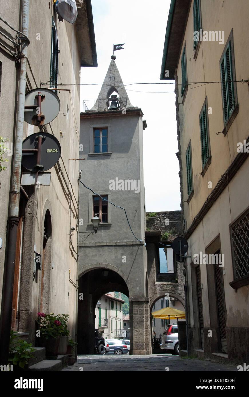 Arcidosso near Mount Amiata Grosseto province tuscany italy - Stock Image