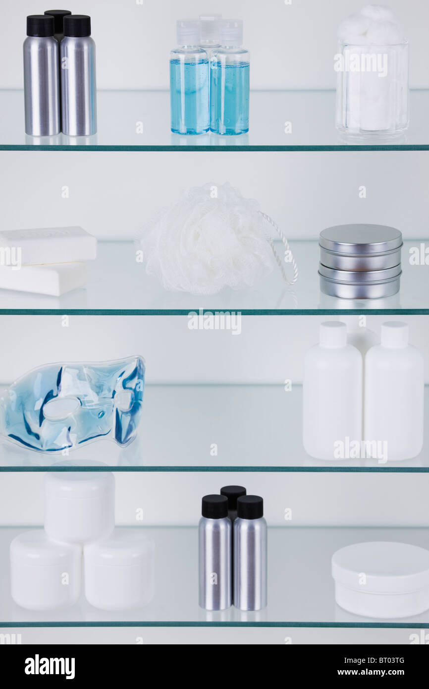 Toiletries Shelves Stock Photos & Toiletries Shelves Stock Images ...