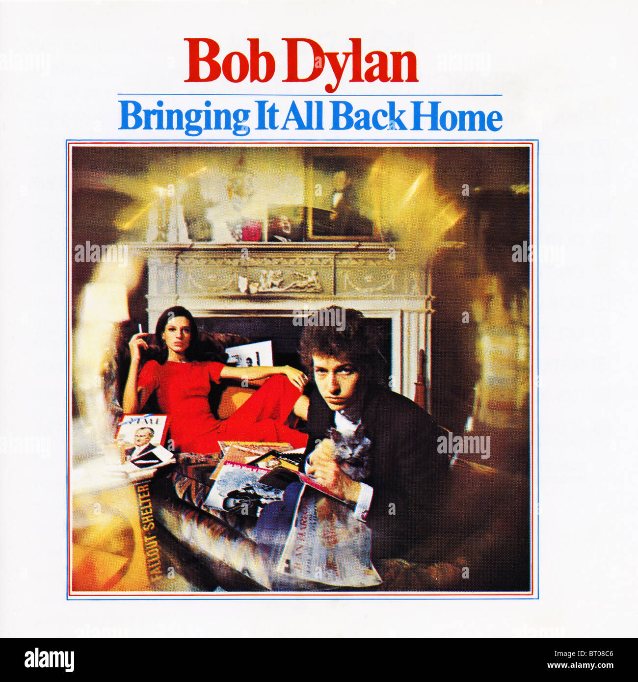 Home All: Album Cover Of Bringing It All Back Home By Bob Dylan