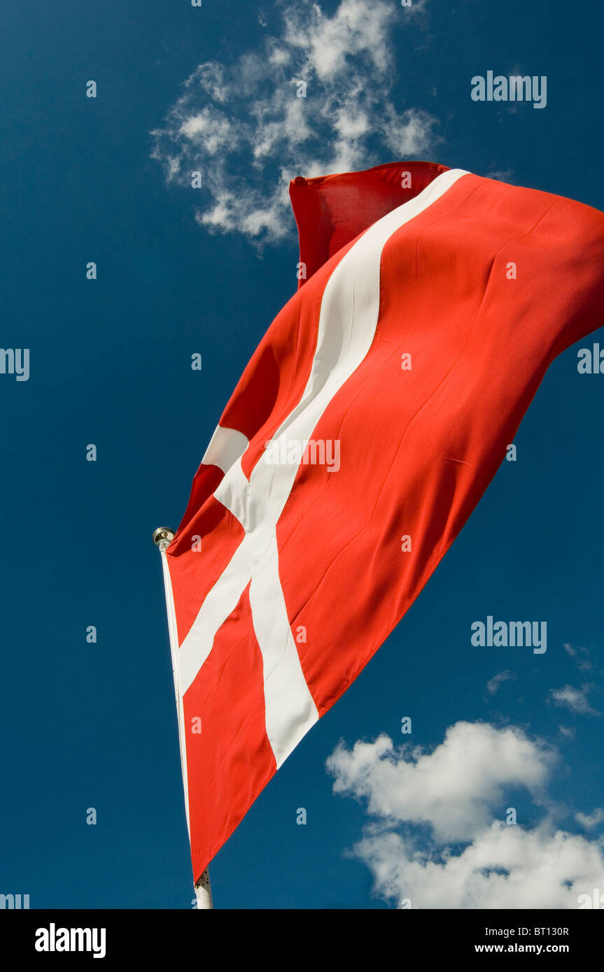 flag flags national identity nation pride symbol country countries nation flutter fluttering in the wind wind breeze - Stock Image