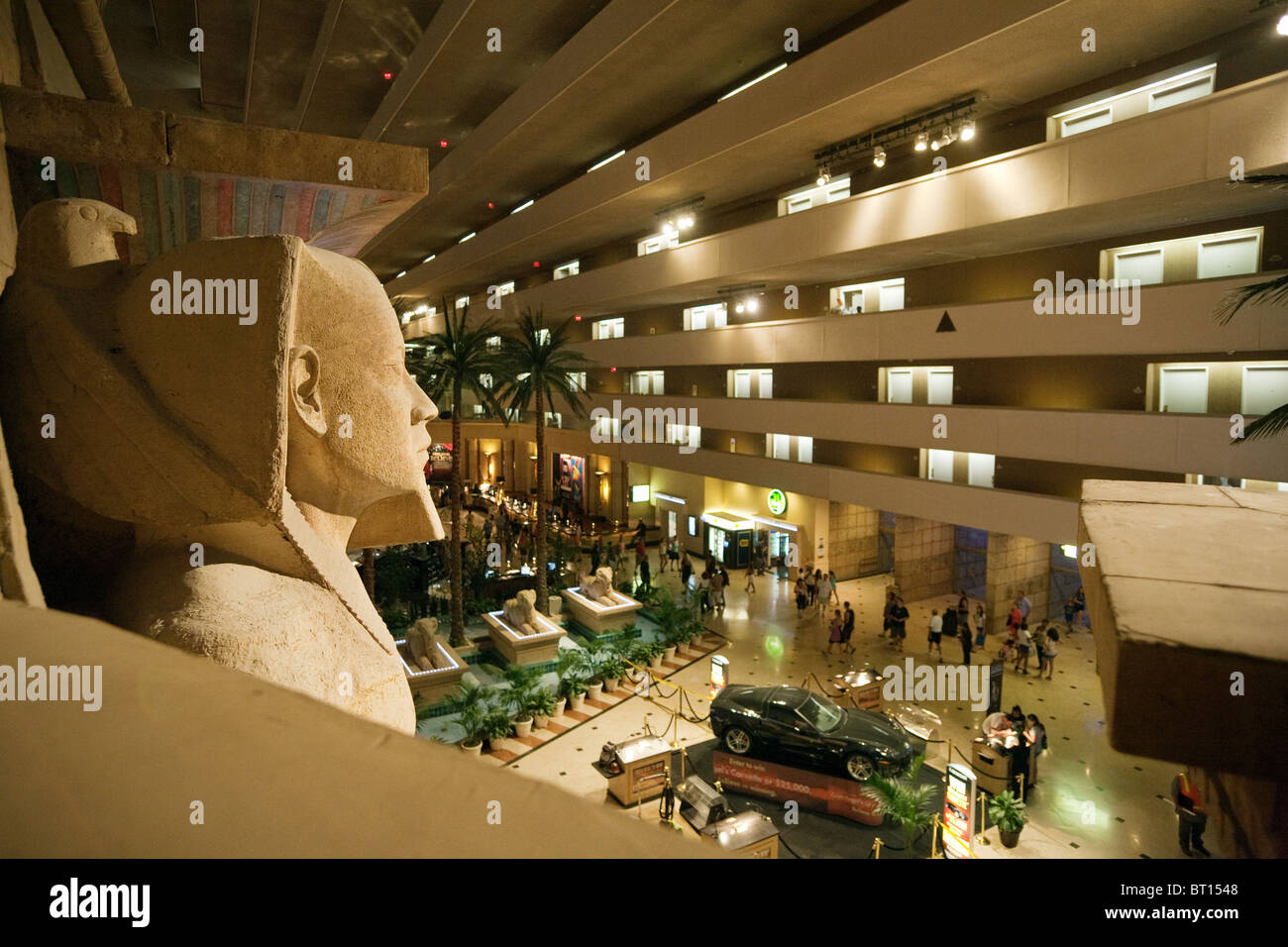 The interior of the Luxor Hotel, the Strip, Las Vegas USA Stock Photo: 31988104 - Alamy