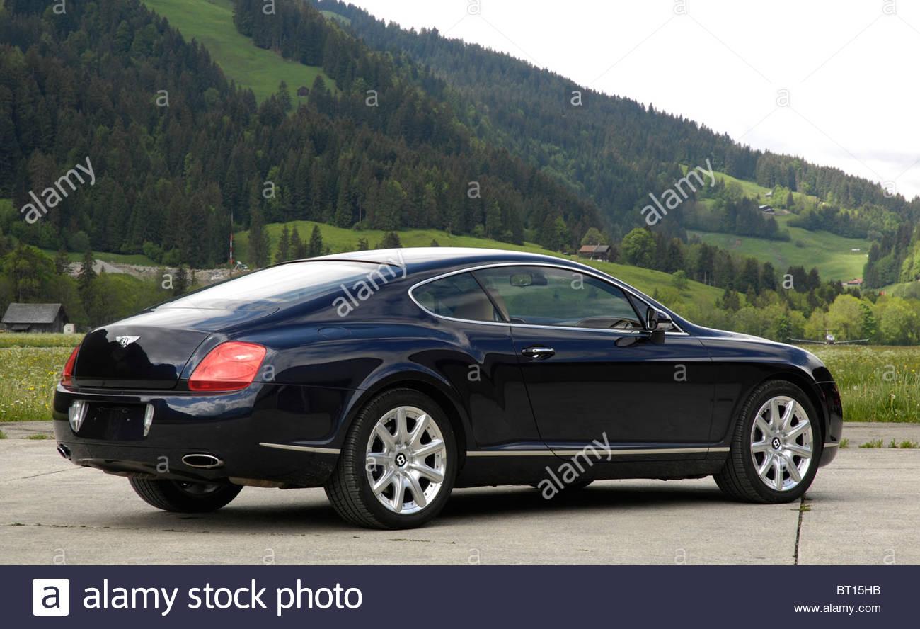 Bentley Continental GT 2003 - Stock Image