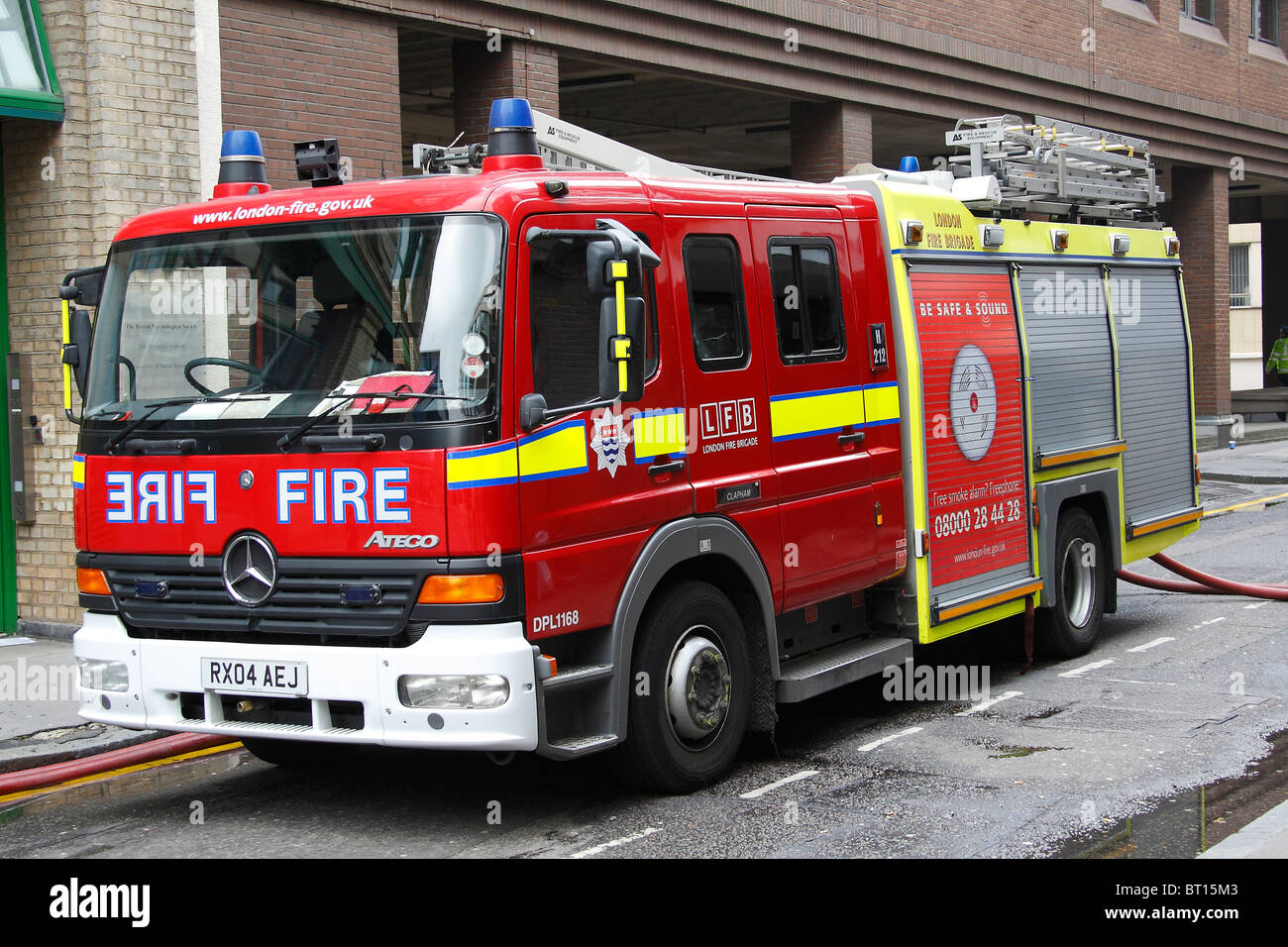 london fire brigade fire engine asset co stock photo 31988547 alamy