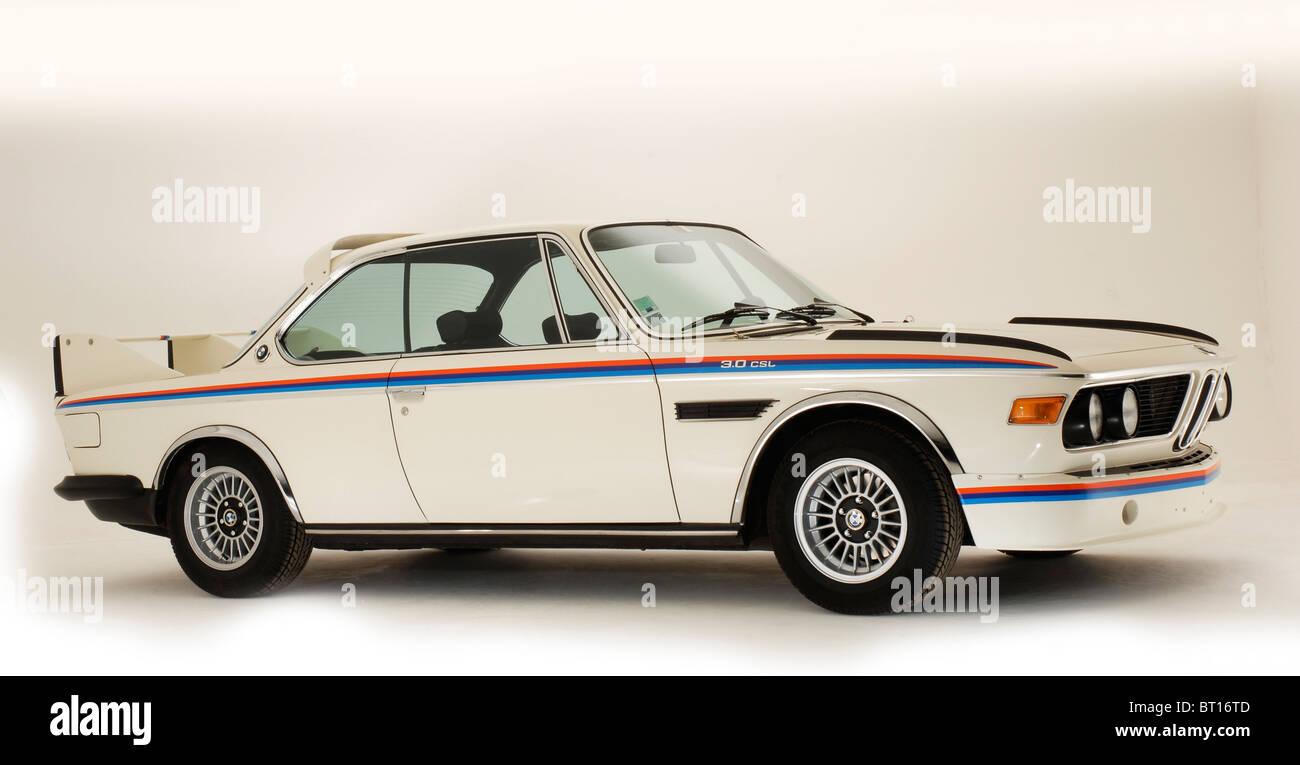 BMW 3.0 CSL 1974 - Stock Image