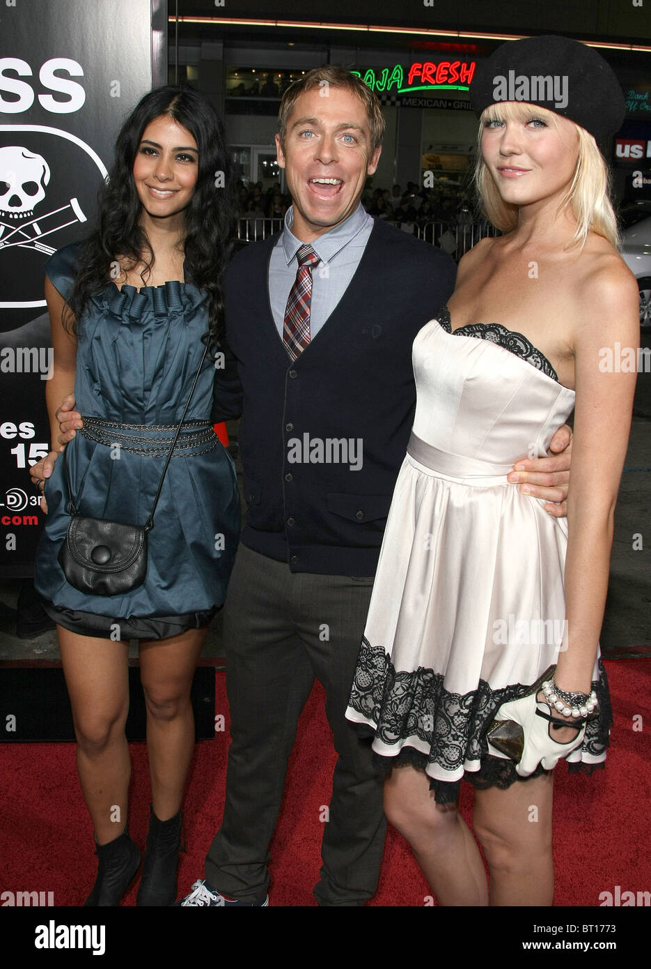 DAVE ENGLAND GUESTS JACKASS 3D PREMIERE HOLLYWOOD LOS ANGELES CALIFORNIA USA 13 October 2010 - Stock Image