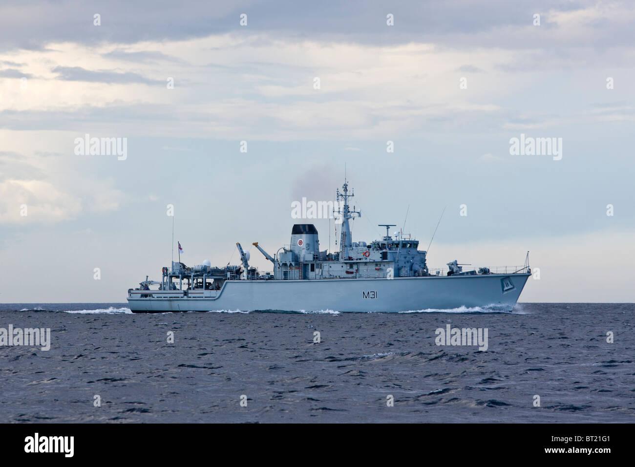 HMS Cattistock of Hartlepool, United Kingdom - Stock Image