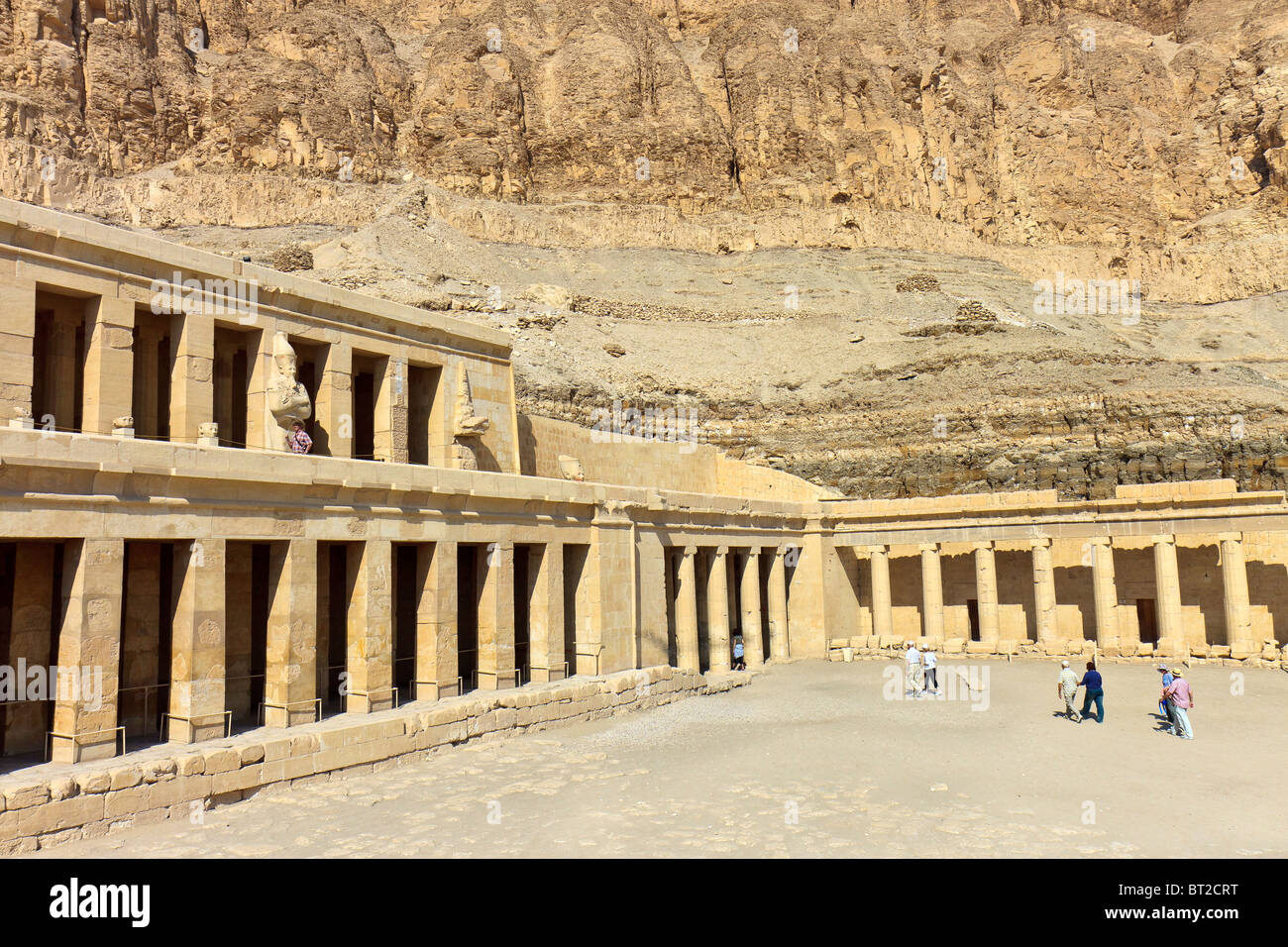 Egypt Thebes Temple Of Queen Hatchepsut - Stock Image