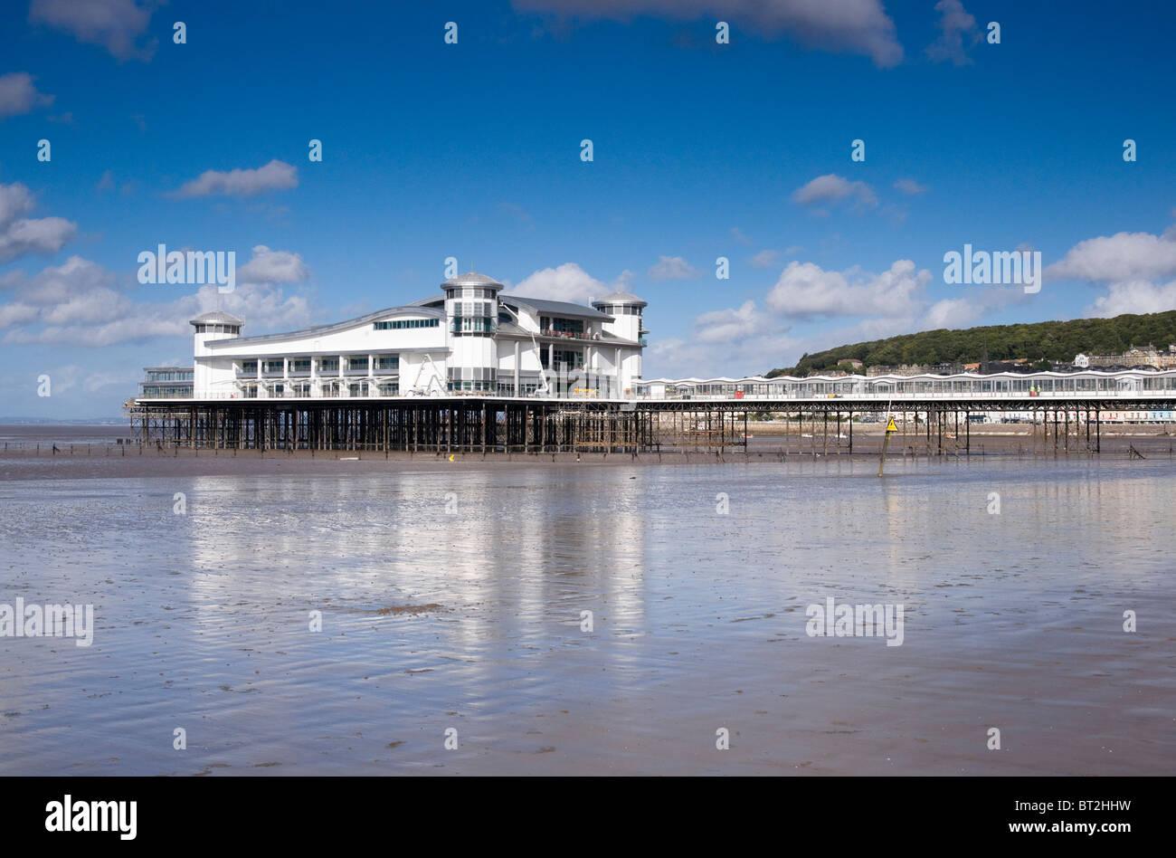 The new Pier Pavilion Weston super Mare - Stock Image