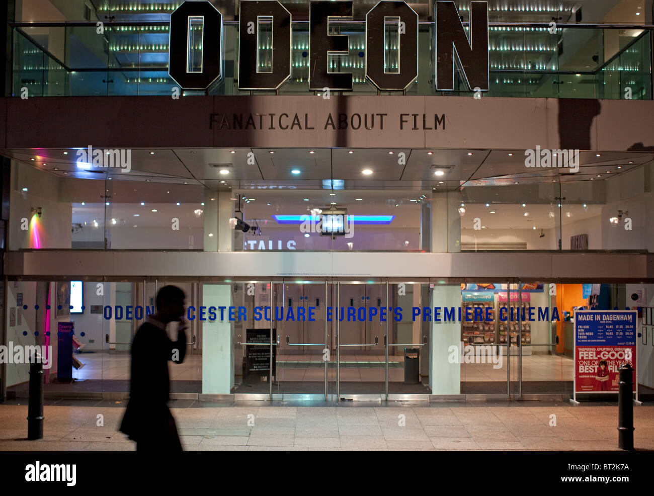Odeon cinema, Leicester Square, London - Stock Image