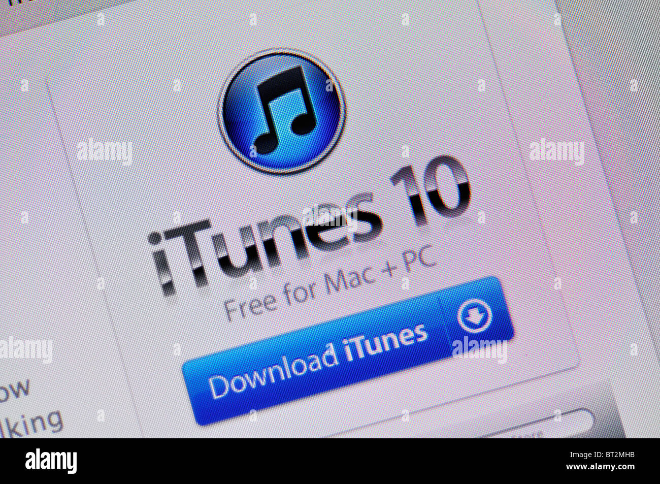 Itunes Computer Stock Photos & Itunes Computer Stock Images - Alamy
