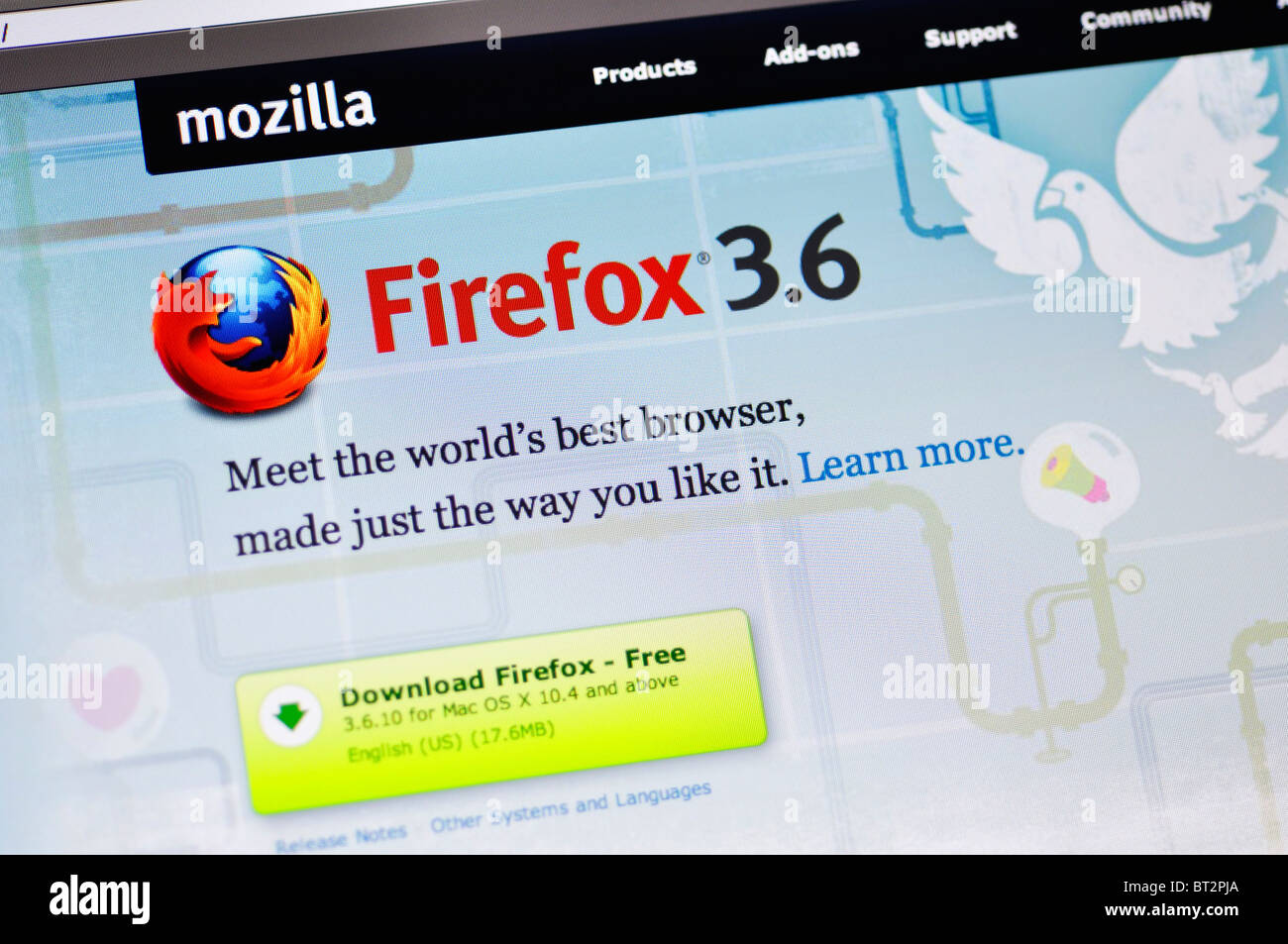 Mozilla Firefox Stock Photos & Mozilla Firefox Stock Images - Alamy