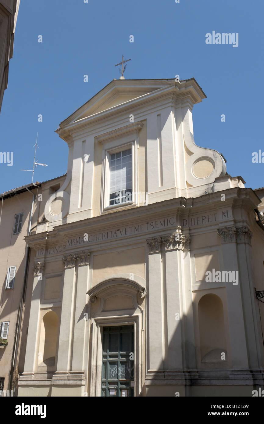 Santa Margherita in Trastevere, Rome - Stock Image