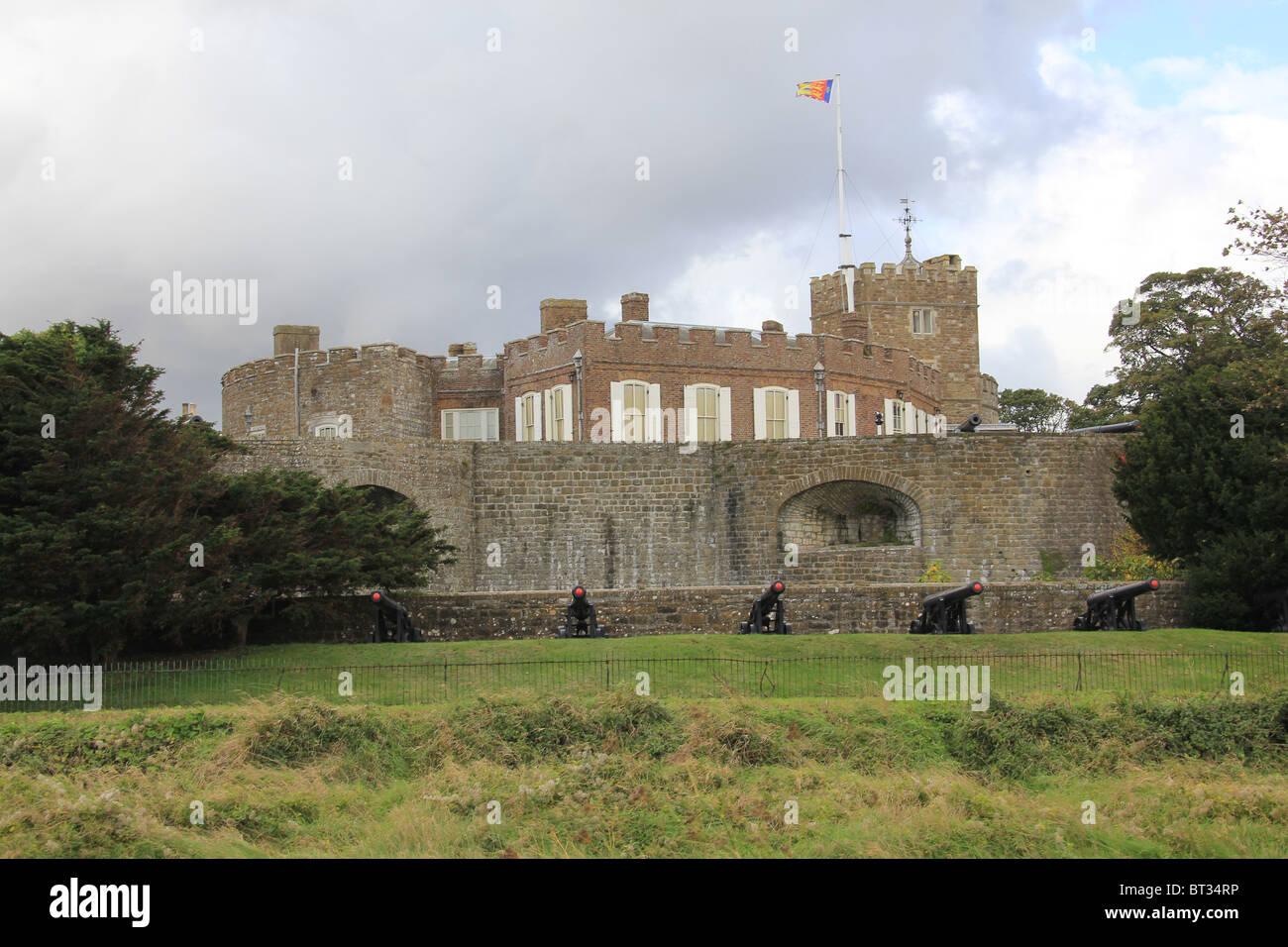 Walmer Castle - Stock Image