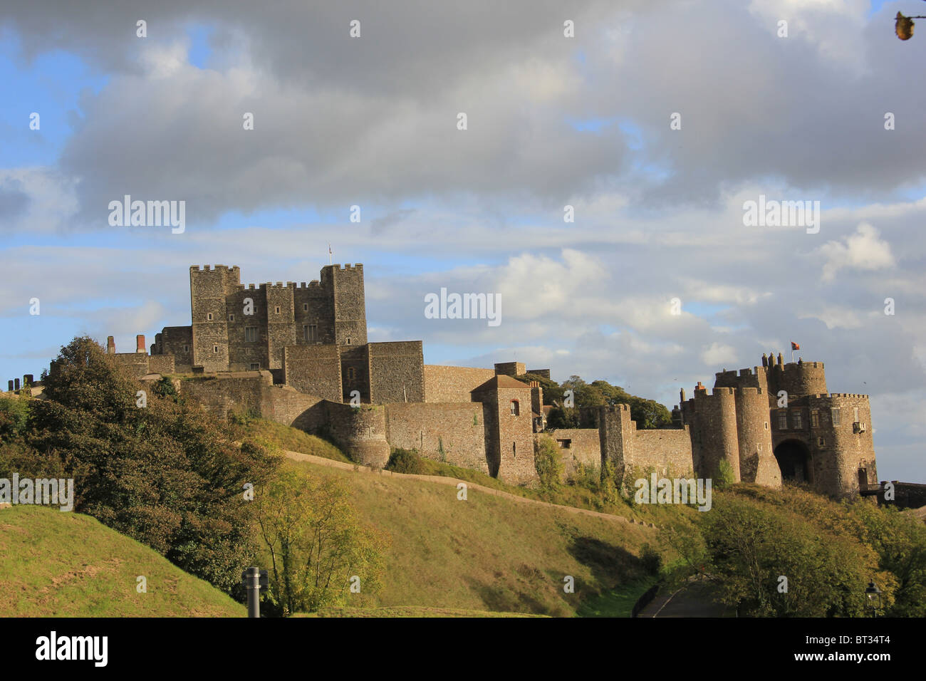 Dover Castle - Stock Image