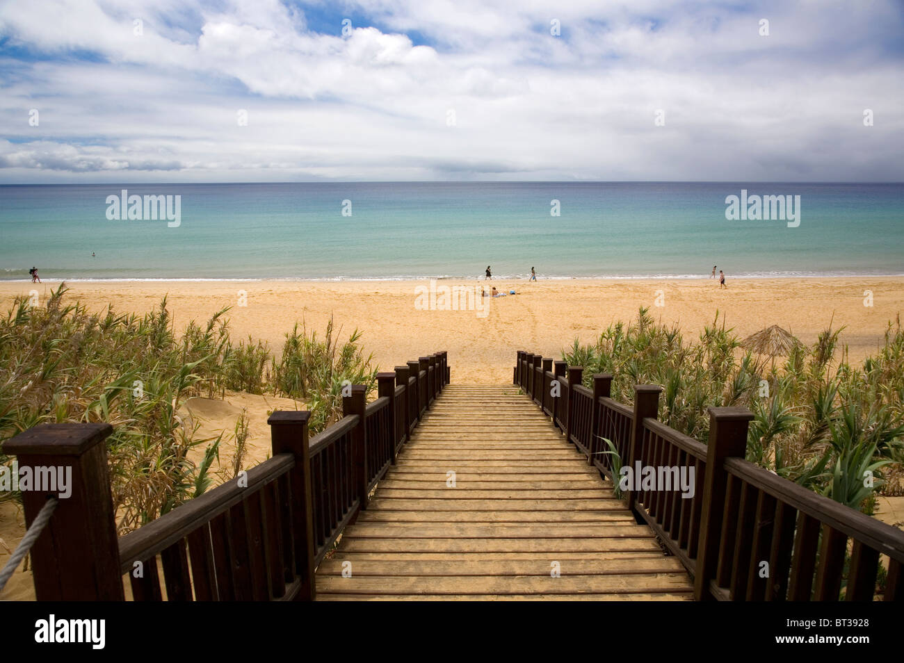 Porto Santo Beach - Madeira - Stock Image