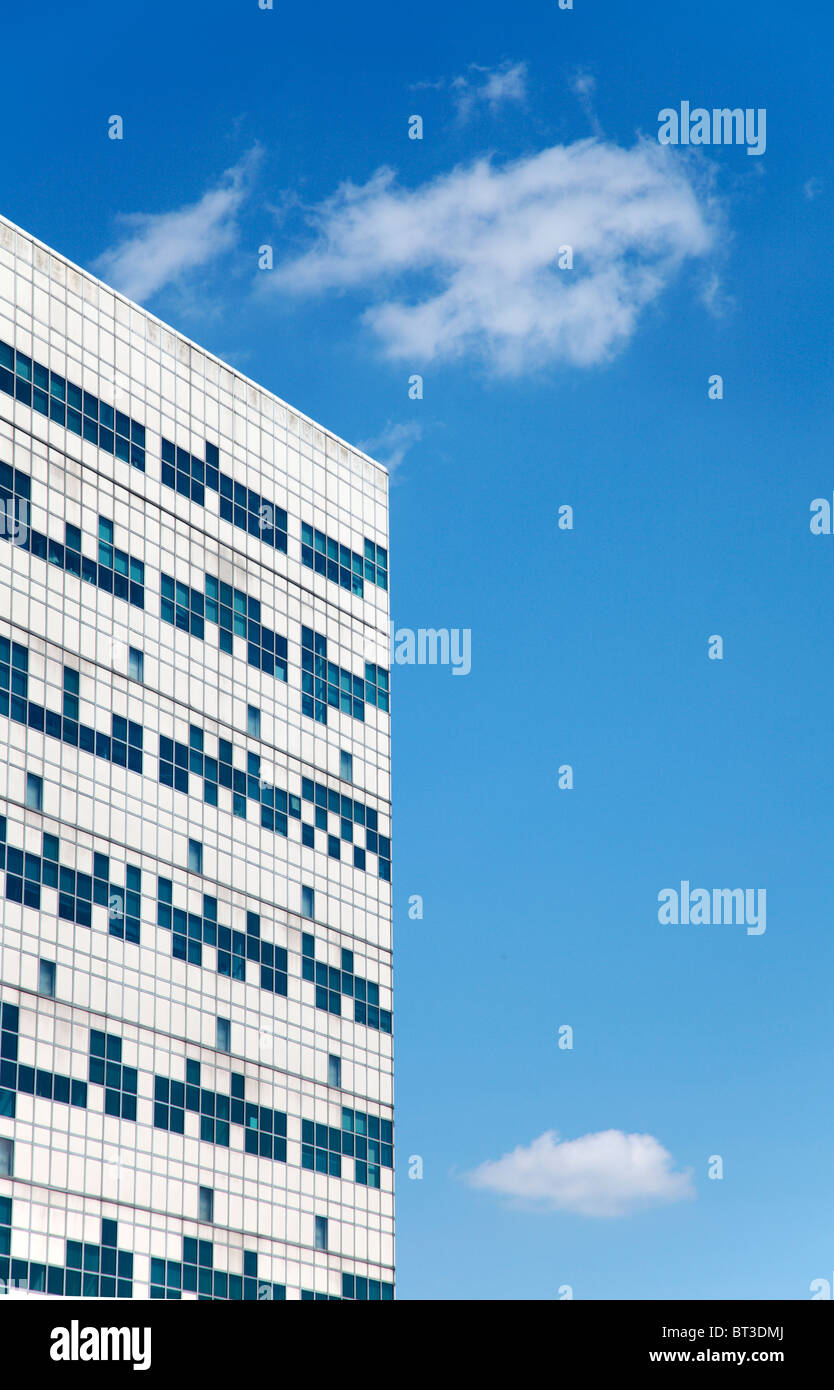 Frits A.F.C. Went building at De Uithof, University of Utrecht - Stock Image