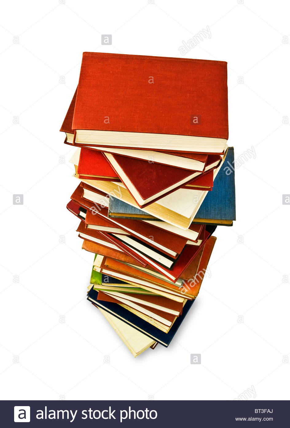 Pile of books - Stock Image