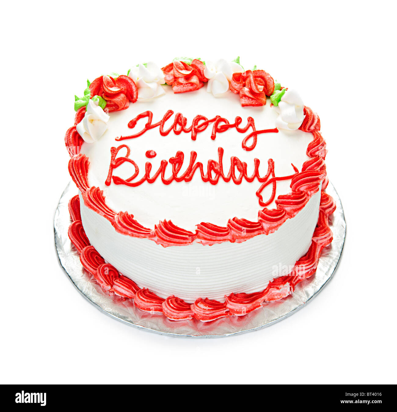 Happy Birthday On Red Background Stock Photos Happy Birthday On