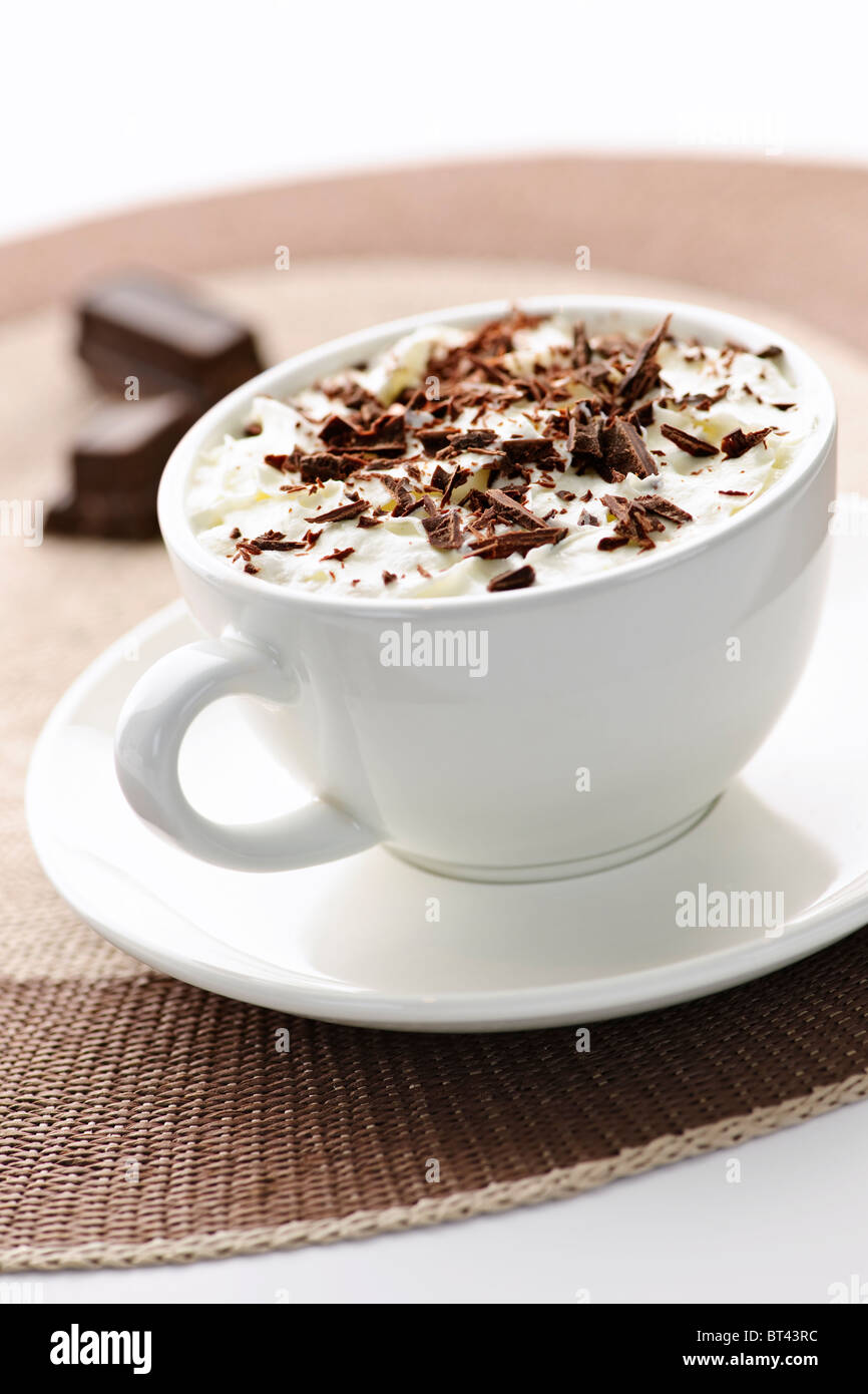 Can drink shaved hot chocolate seems