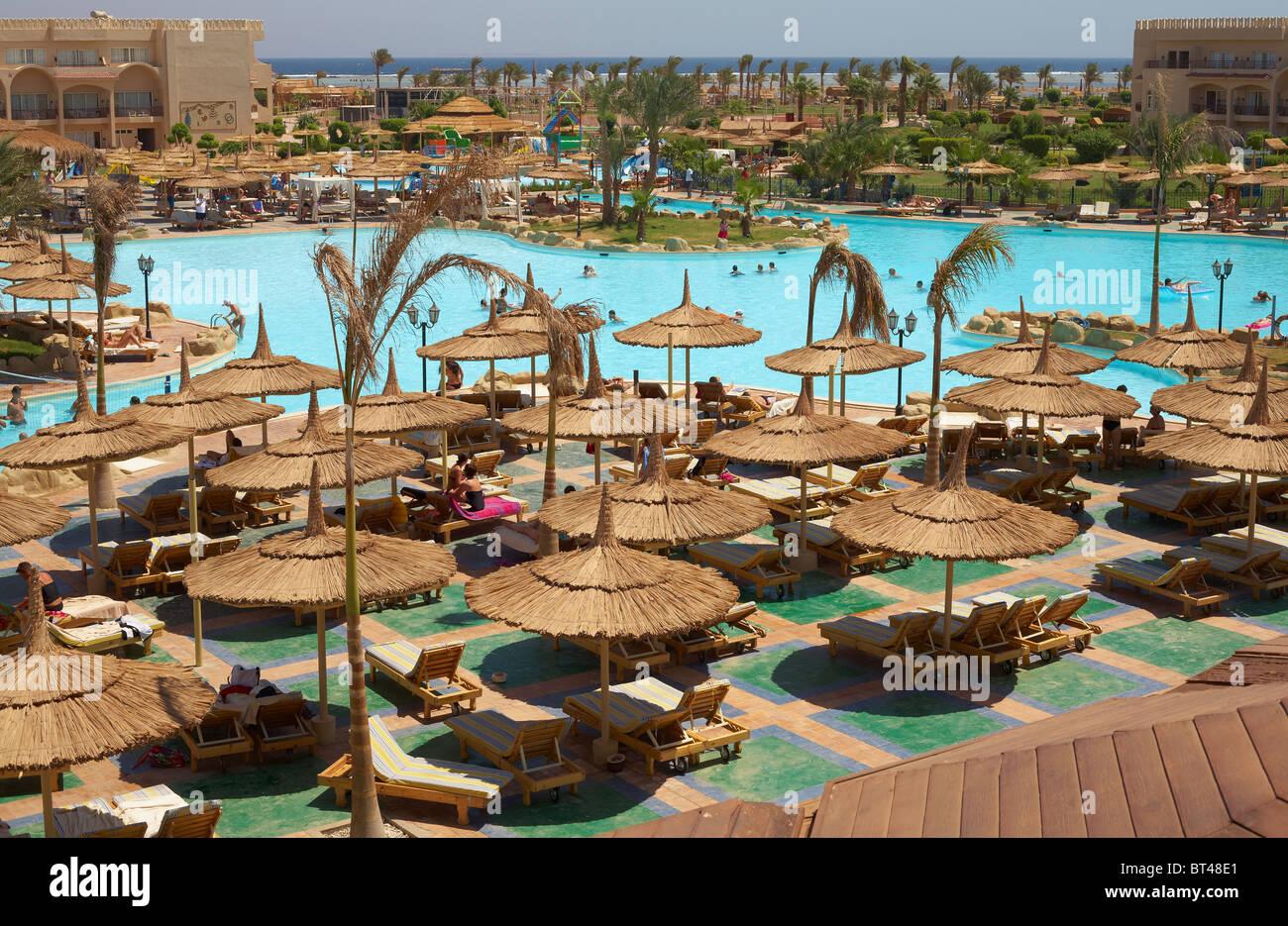 Royal Albatros Moderna Hotel - Red Sea, Sinai, Sharm el-Sheikh - Stock Image