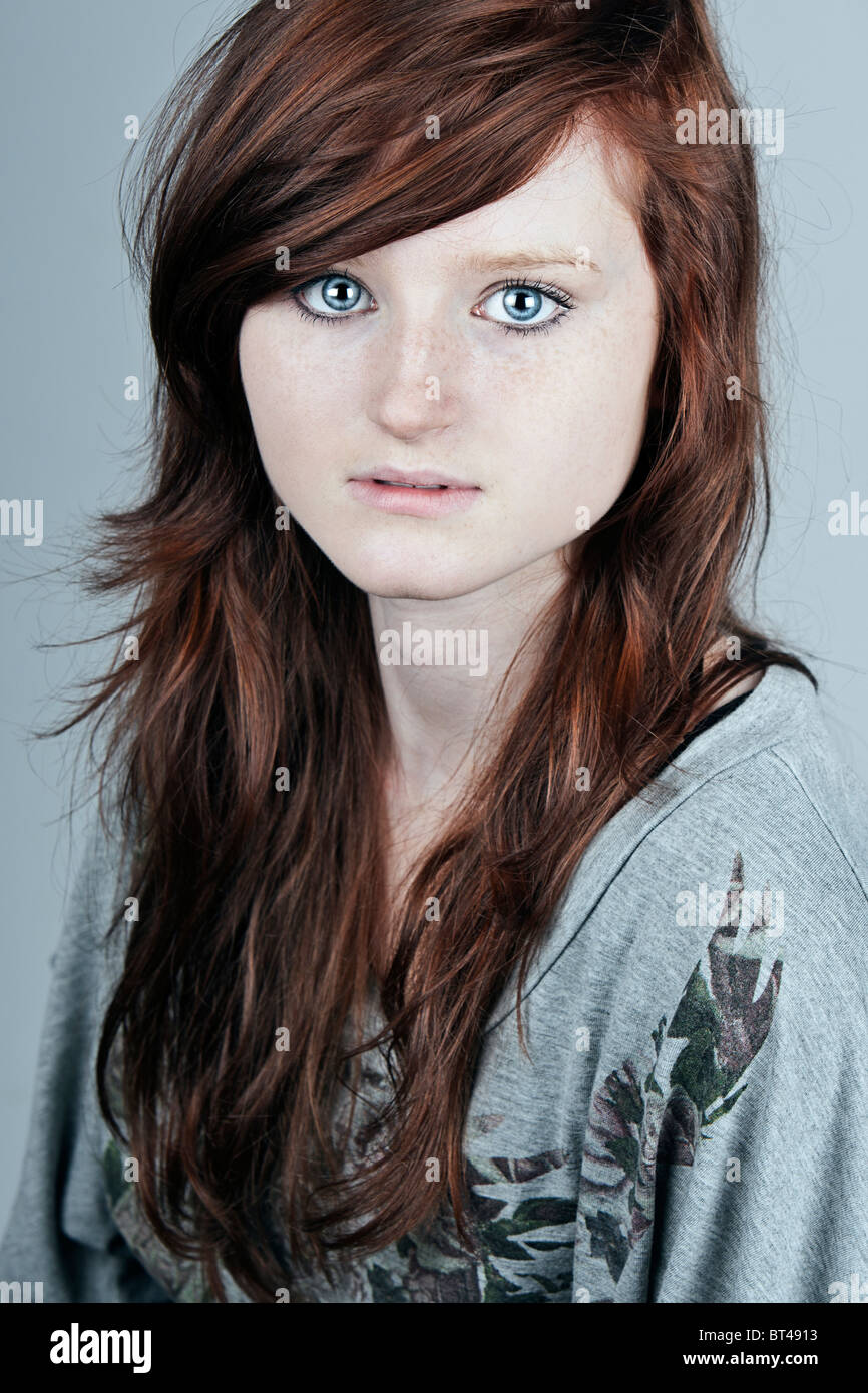 Red Head Teen Girl