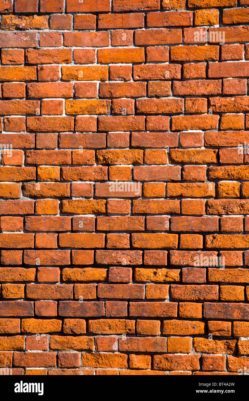 Red Brick wall - Stock Image