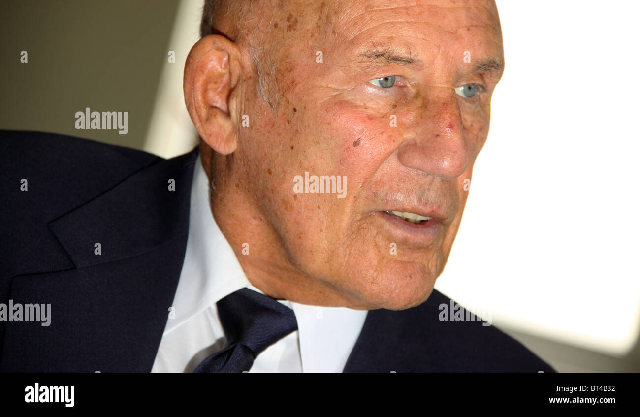 Stirling Moss racing driver - Stock Image