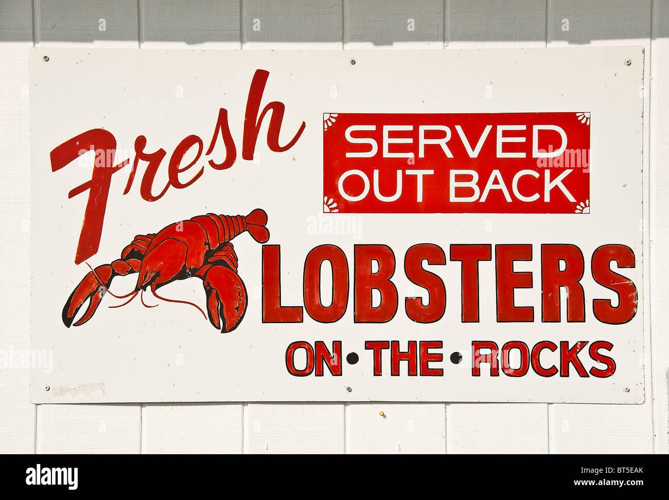 HUMOR POSTER Fresh Lobster