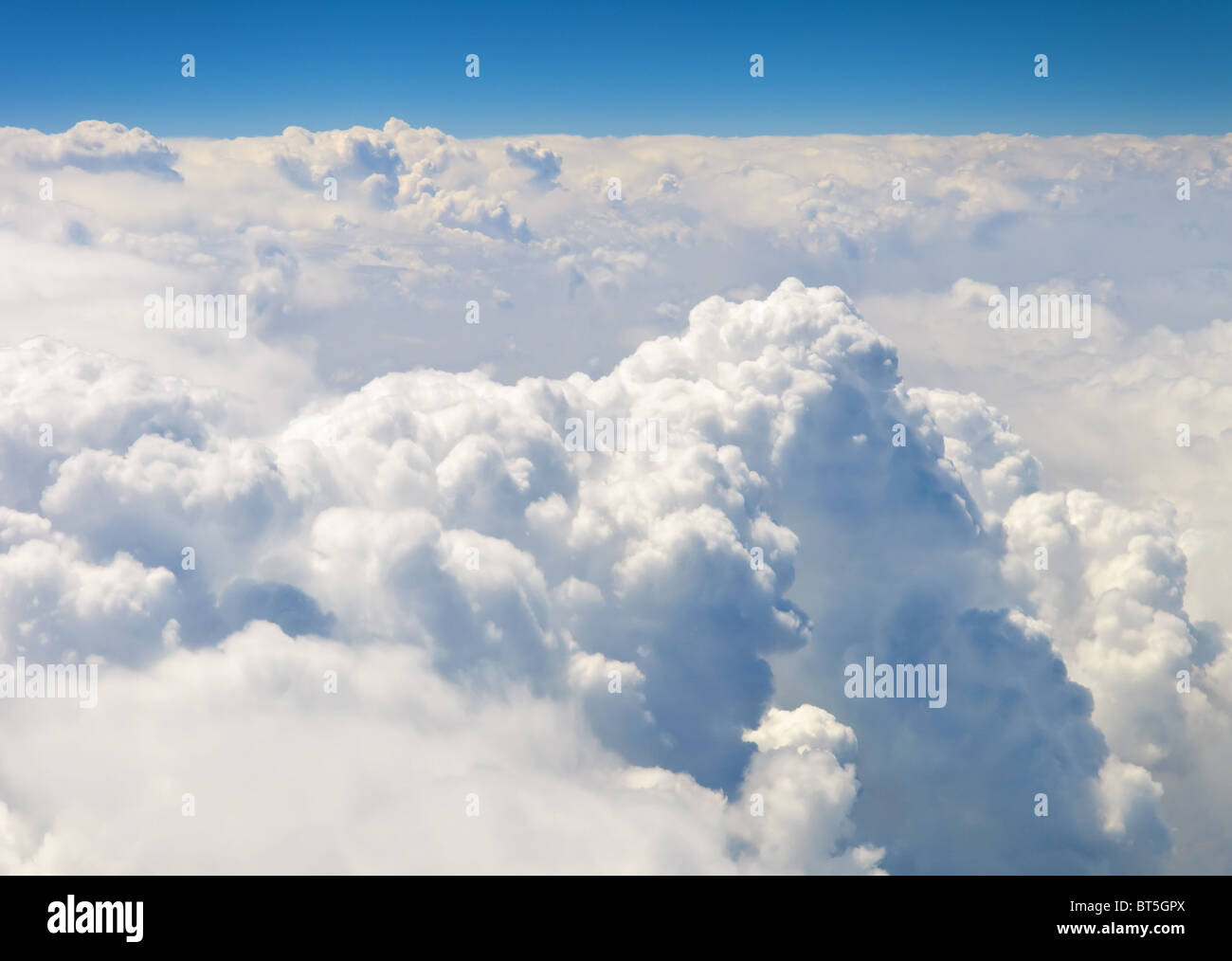 atmosphere - sky and clouds background - Stock Image