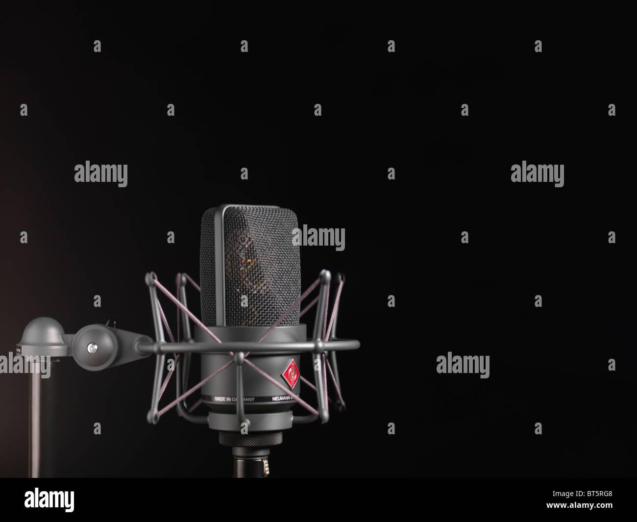 Neumann studio microphone TLM 103 - Stock Image