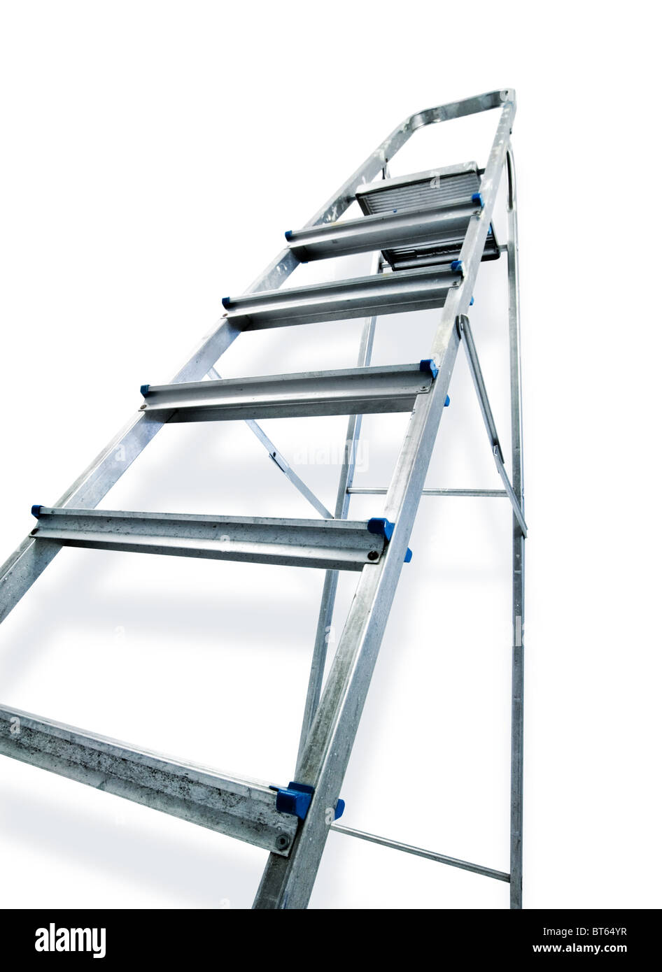 step ladder Stock Photo