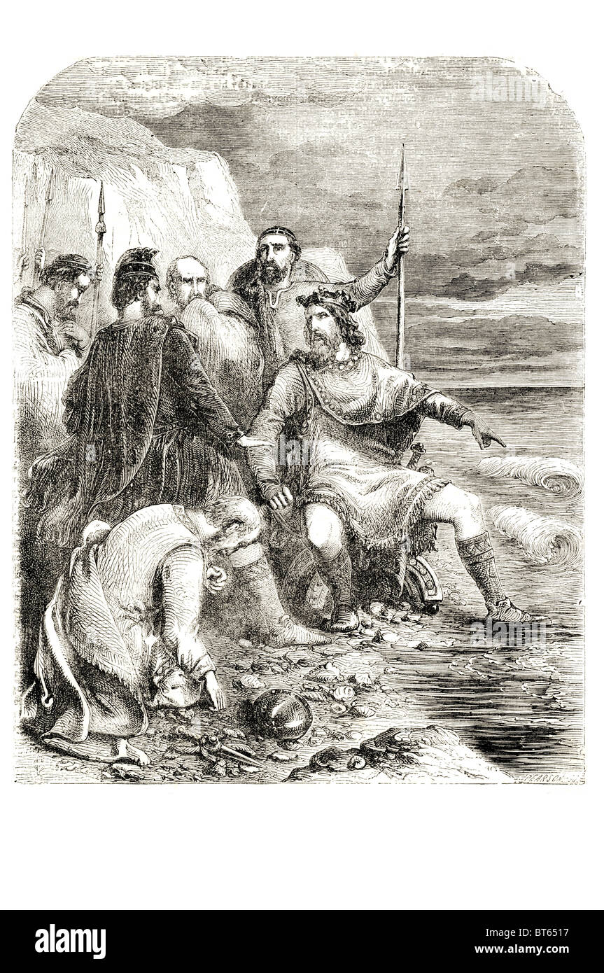 king canute the great Cnut  Norse: Knūtr inn rīki;. 985  995 – 12 November 1035 Denmark, England, Norway Sweden. - Stock Image