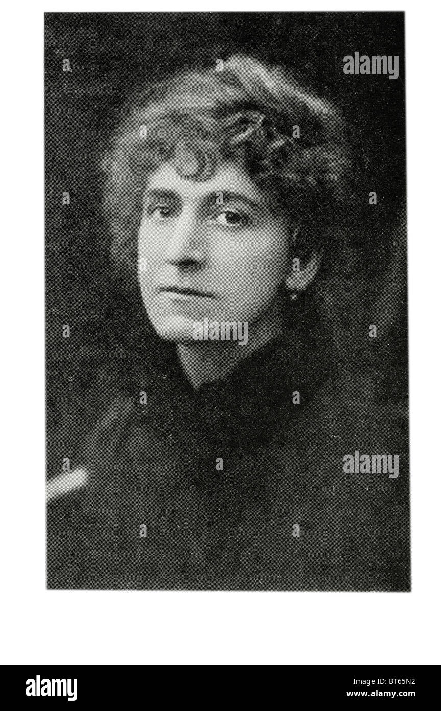 wife of William Ernest Henley 23 August 1849 – 11 July 1903 was an English poet, critic and editor, best remembered - Stock Image