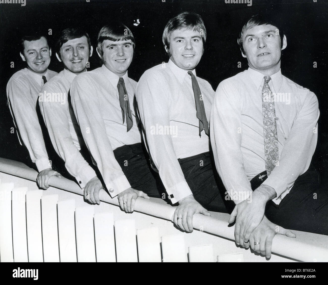 HILLSIDERS  UK pop group in 1969 - Stock Image