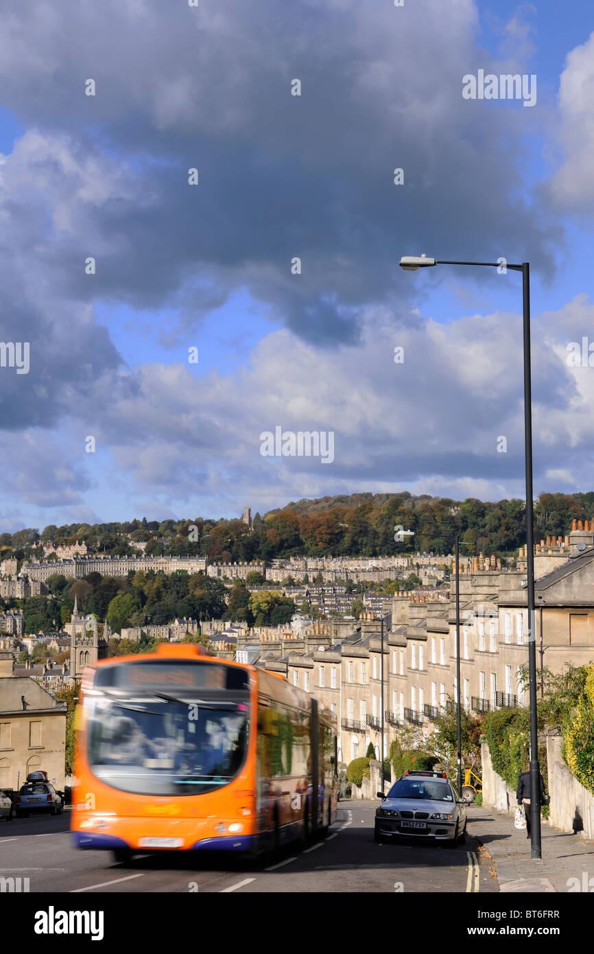 City Bus - The City of Bath - Stock Image