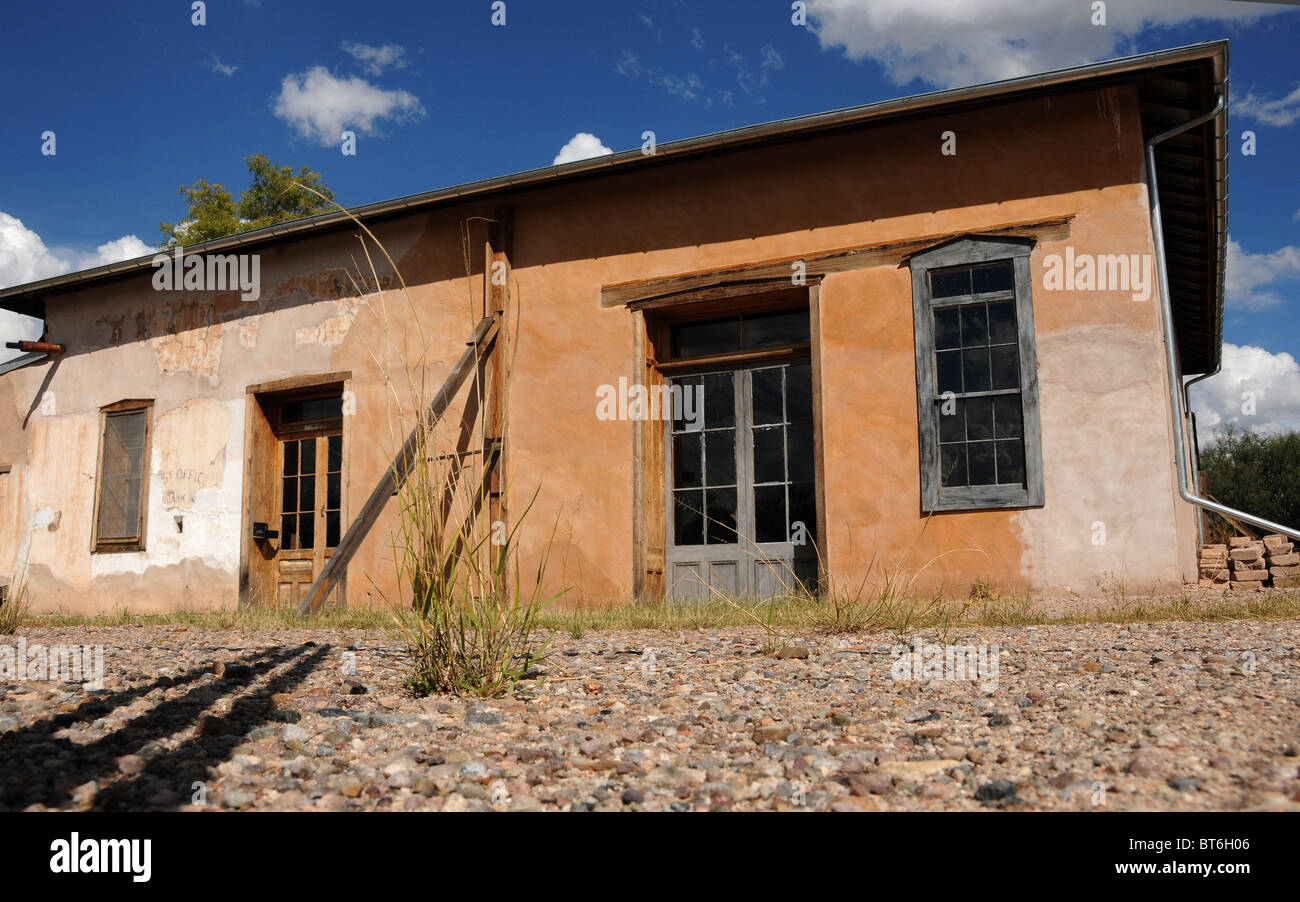 Fairbank, Arizona, USA, is a ghost town and historic site along the San Pedro River in Cochise County. - Stock Image