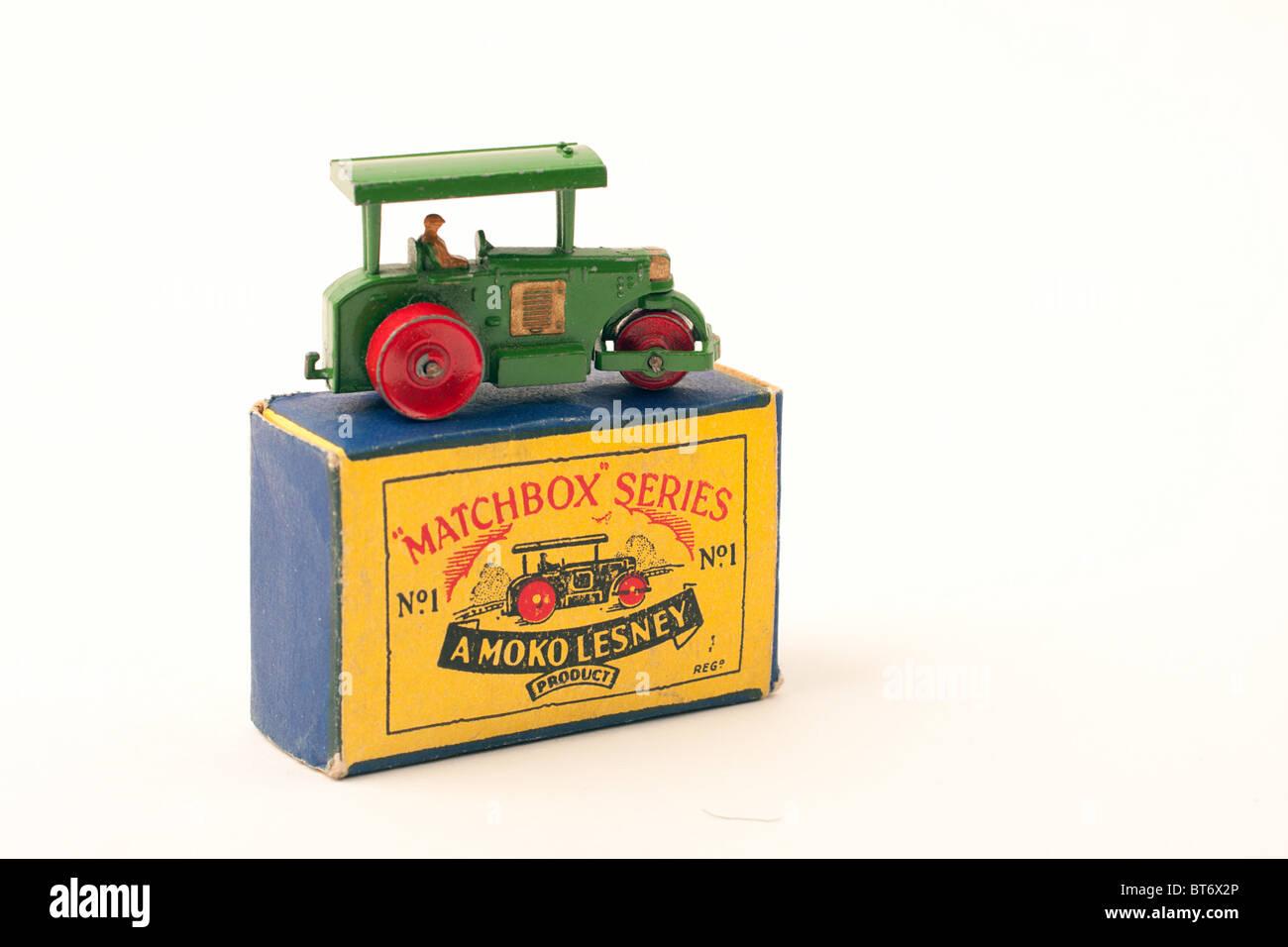 matchbox 1-75 die cast car, mint in box - Stock Image