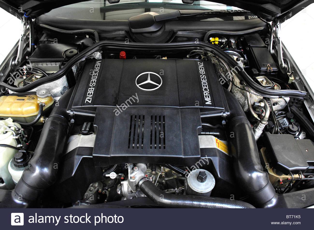 Mercedes Benz 500E 1990 - Stock Image