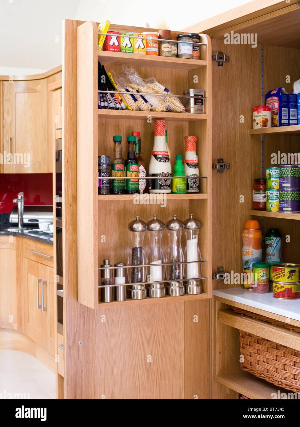 Country Kitchen Larder Cupboard