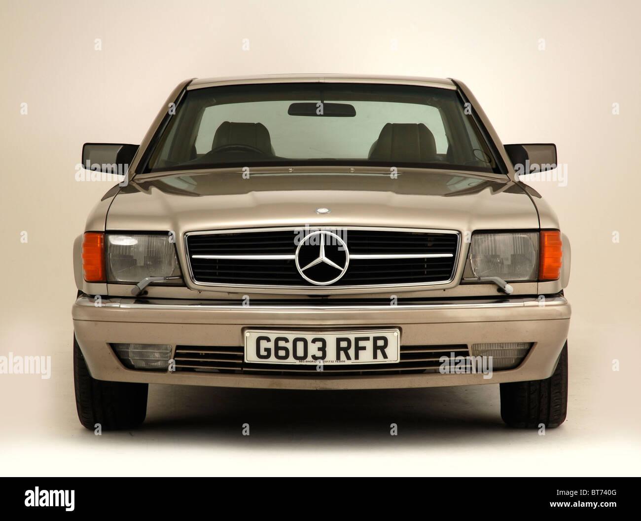 Mercedes Benz  560 SEC 1990 - Stock Image